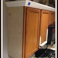 Kitchen Cabinet Makeover  Install Crown Molding