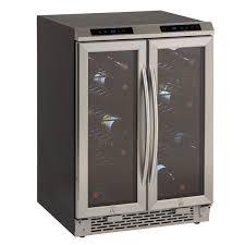 avanti wcv38dz side by side dual zone wine cooler refrigerator beveragefactory com