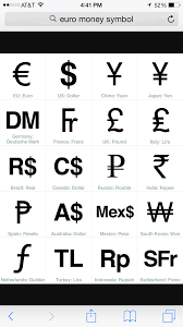 Pin By Noralee Peterson On Abc Currency Symbol Symbols Money