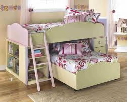 Bedding Charming Ladiville B567 Twin Over Size Bunk Bed Ashley