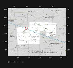 The Ultracool Dwarf Star Trappist 1 In The Constellation Of