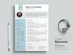 Modern Elegant Font For Resume Professional Resume Template By Classic Designp On Dribbble
