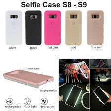 Light Up Samsung S9 Case Details About Selfie Case Cover Led Light Up Bright Flashlight For Samsung Galaxy S8 S9 Plus