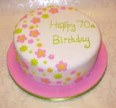 Flower Garden 70th Birthday Cake For Android Id 133400 Buzzerg