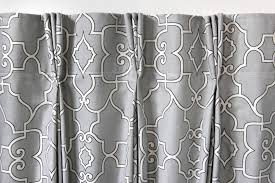 how to make pleated curtains with pleat tape hooks finished image