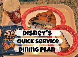 Dining Plan Disney World Plan Snack Cuisine Best Dining Plans At