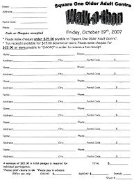 Fundraiser Pledge Form Template Fundraising Order Form Templates Frank And Pledge For Template Sheets