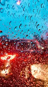 Water drops, surface, blur, glass ...
