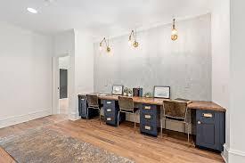 wood desk top on navy blue file