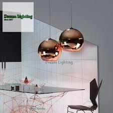 35cm dream lighting best er decorative ceiling lights pendants copper mirror ball rose gold