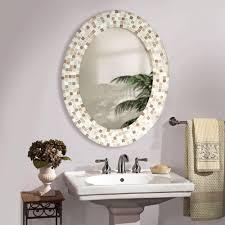 Decorative oval mirror for bathroom Mirrors