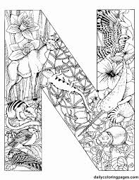 Small Picture Coloring Pages With Letters Stunning Detailed Coloring Pages For