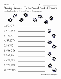 Rounding to the Nearest Ten and Hundred Worksheets Best Of ...