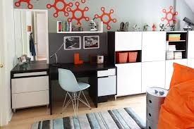 ikea cabinets office. You Can Create Quite Interesting Storage Walls By Mixing Cabinets With Doors And Without Them. Ikea Office