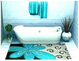 3 piece bathroom rug set 3 piece bathroom rug set target furniture fascinating teal bath mat