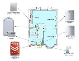 wireless burglar alarms electronic projects pinterest House Alarm Wiring Diagram wireless burglar alarms home alarm wiring diagram
