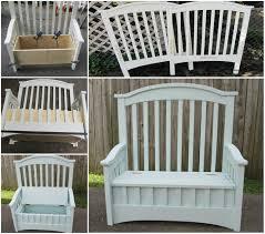 view in gallery cot storage bench wonderfuldiy wonderful diy upcycled chair bench