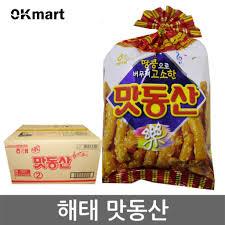 SNACK BÁNH GẠO MATDONGSAN -맛동산 90g – Siêu thị Korea | sieuthikorea.com.vn |  siêu thị Hàn Quốc OK Mart