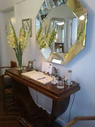 furniture for a foyer. Milvil Corner Bed And Breakfast: Beautiful Art Deco Mirror \u0026 Furniture In  The Hallway/ For A Foyer