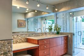 enchanting information and tips of bathroom track lighting mirror throughout inspirations 4