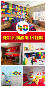 Lego Bedroom Wallpaper 40 Best Lego Room Designs For 2017