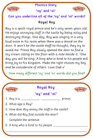 Printable phonics worksheets for kids. Oy And Oi Phonics Games And Worksheets Oi And Oy Sound Worksheets Eyfs And Reception Phonics Teachingcave Com