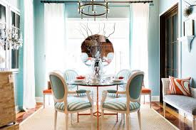 turquoise dining room view full size