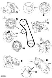 to replace timing belt on ford focus 1 8 tdci 2002 2005 2001 2002 ford focus belt diagram