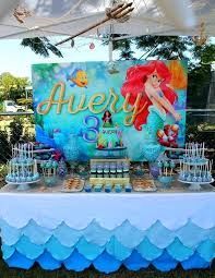 the little mermaid birthday party decorations a theme ideas