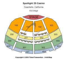 Spotlight 29 Casino Seating Chart
