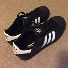 adidas shoes superstar black and white. adidas superstar black white classic shoes and r