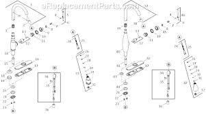 kohler kitchen faucet parts. Kohler Kitchen Faucet Parts H
