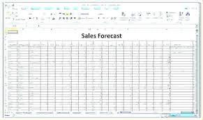 Forecasting Spreadsheet Projection Sheet Template Twelve Month Profit Balance