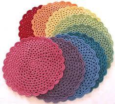 Free Crochet Placemat Patterns Amazing 48 Best Crochet Placemat Patterns Images On Pinterest Crochet