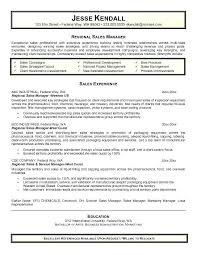Sales Account Manager Resume Sample Professional Parts Manager