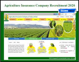 At least 10 minute delayed. Agriculture Insurance Company Recruitment 2020 Out Just Now Released