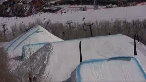 Snowboard Terrain Park Design Intelligent Design Snowboard Contest At Park City 2009 Shaun White Wins