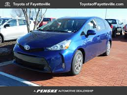 2017 New Toyota Prius v Four at Toyota of Fayetteville Serving NWA ...