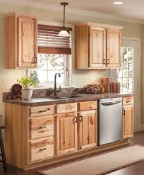 menards kitchen countertops. Beautiful Hickory Cabinets For A Natural Looking Kitchen Http Menards Countertops N