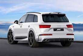 ABT Dresses Audi Q7 in Sportier Clothes, Calls It The QS7   Carscoops