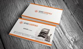 business card office stationery office equipment business card template free download