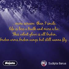 Bhagwan Quotes More Scream Than I Smile Life Nojoto