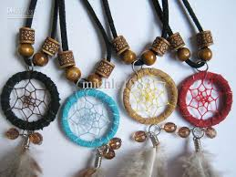 Dream Catcher Neclace Magnificent Wholesale Hot Sale American Indian Style Dream Catcher Necklace