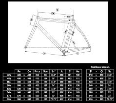 72 True To Life Colnago Cx 1 Geometry Chart