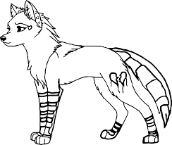 Small Picture Wolf Coloring Pages Animals Printable Coloringzoom Inside Page