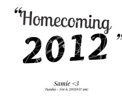 Homecoming Quotes. QuotesGram