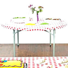 round table cover with elastic u2016 medicyl site clear