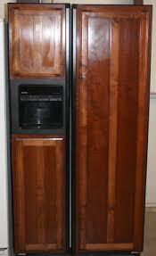 wood panel refrigerator. Brilliant Refrigerator Image 2  Kenmore Side By Wood Panel Refrigerator Inside O