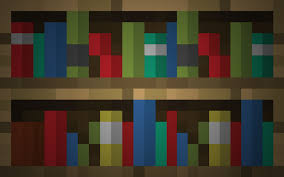how to make a bookshelf in minecraft. Captivating Minecraft Bookcase Also Deviantart More Like Bookshelf Wallpaper Fivezero09 How To Make A In