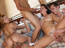 Her first orgy story